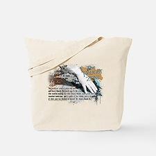 Last Man on Earth Glasses Tote Bag