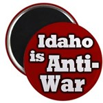 Anti-war Idaho Magnet