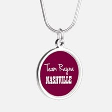 TEAM RAYNA Silver Round Necklace