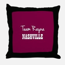 TEAM RAYNA Throw Pillow