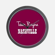TEAM RAYNA Wall Clock