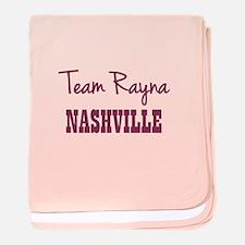 TEAM RAYNA baby blanket