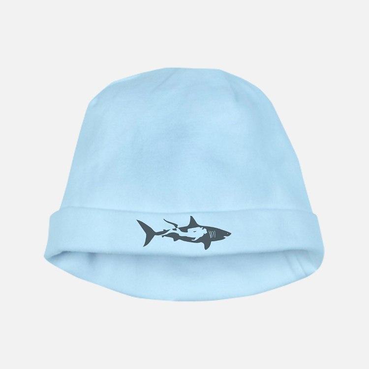 shark scuba diver hai taucher diving baby hat