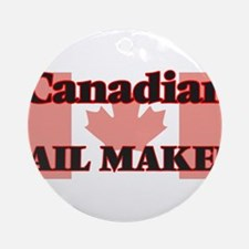 Canadian Sail Maker Round Ornament