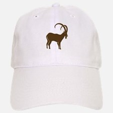 ibex capricorn steinbock mountain goat sheep a Baseball Baseball Cap