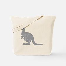 känguru kangaroo australien australia aus Tote Bag