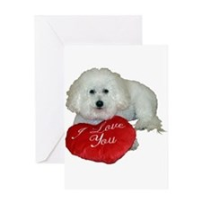 beau valentine 1 Greeting Cards