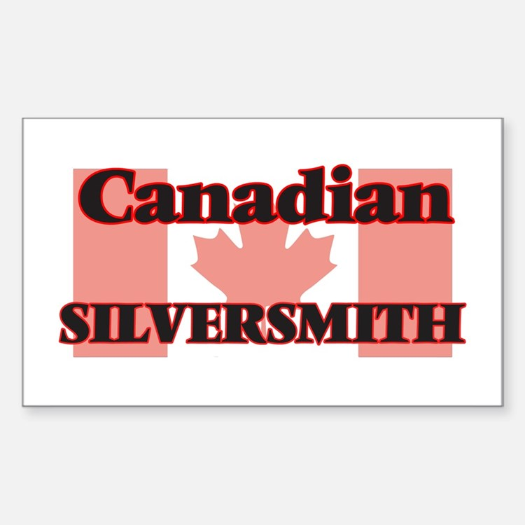 Canadian Silversmith Decal