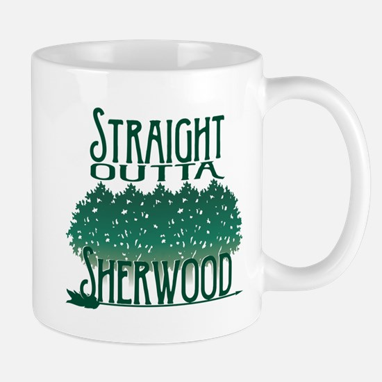 Straight Outta Sherwood Mugs