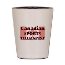 Canadian Sports Psychologist Shot Glass