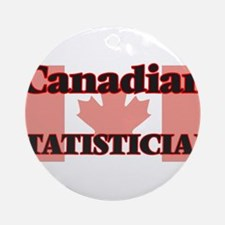 Canadian Stage Manager Round Ornament