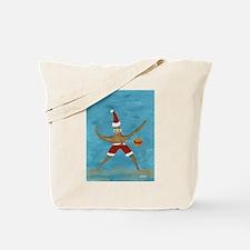 Christmas Starfish Tote Bag