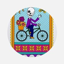 Best Seller Sugar Skull Round Ornament
