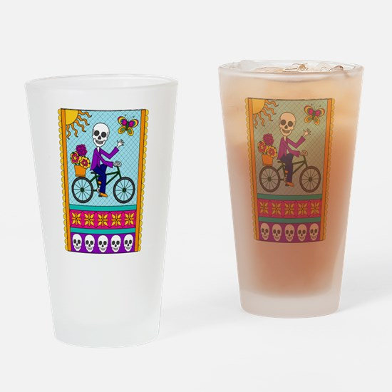 Best Seller Sugar Skull Drinking Glass