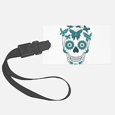 Mexican sugar skulls Luggage Tag