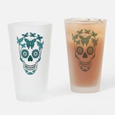 Unique Mexican sugar skulls Drinking Glass