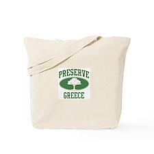 Preserve Greece Tote Bag