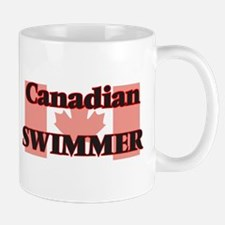 Canadian Swimmer Mugs