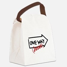 OneWay_4Light.png Canvas Lunch Bag