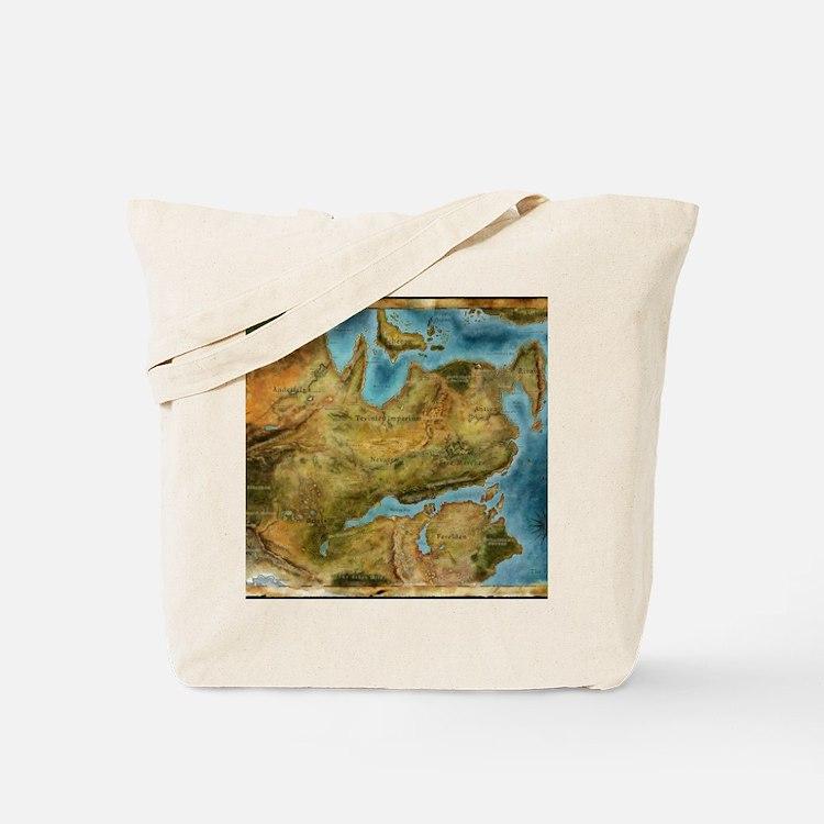 Thedas Map Tote Bag