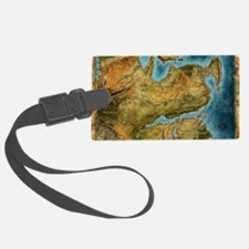 Thedas Map Luggage Tag