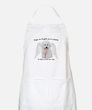 Bichons are Angels Light Apron