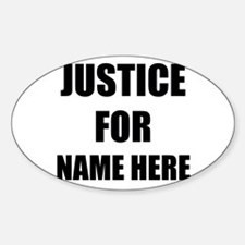 Justice For Decal