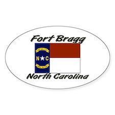 Fort Bragg North Carolina Oval Decal