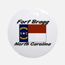 Fort Bragg North Carolina Ornament (Round)