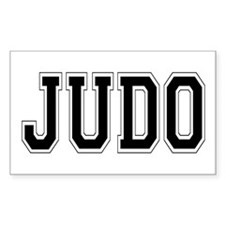 Judo Rectangle Decal