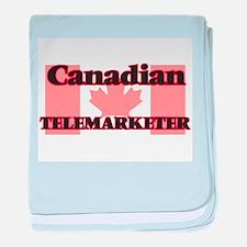 Canadian Telemarketer baby blanket
