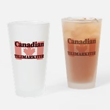 Canadian Telemarketer Drinking Glass