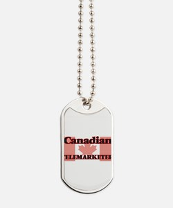 Canadian Telemarketer Dog Tags