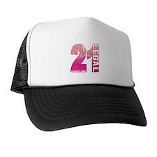 21 Legal Trucker Hat