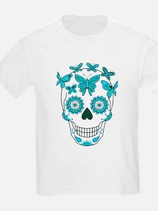 Unique Mexican sugar skulls T-Shirt