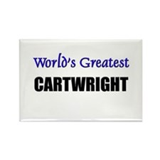 Worlds Greatest CARTWRIGHT Rectangle Magnet