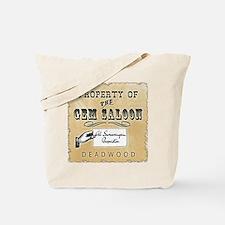 Gem Saloon Deadwood Tote Bag