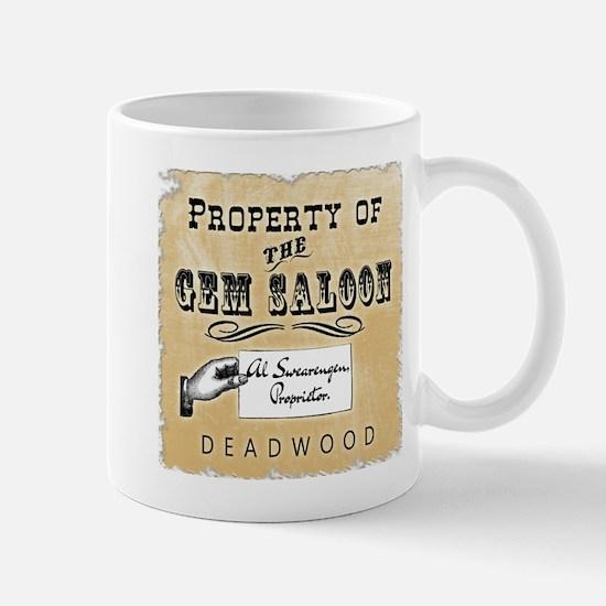 Gem Saloon Deadwood Mug