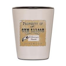 Gem Saloon Deadwood Shot Glass