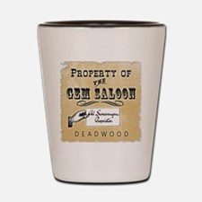 Gem Saloon Deadwood Shot Glass