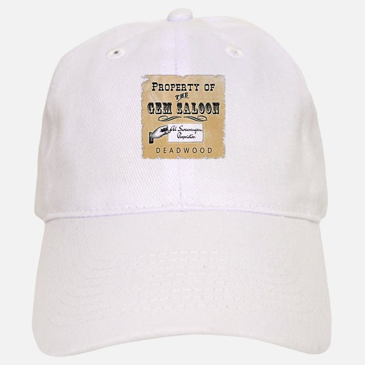 Gem Saloon Deadwood Baseball Baseball Cap