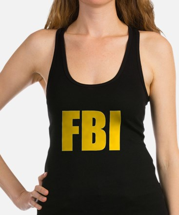 FBI Racerback Tank Top