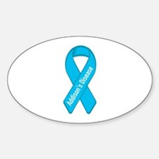 Addison's Disease Oval Decal