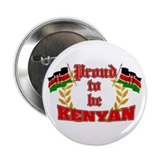 """Proud to be Kenyan 2.25"""" Button (10 pack)"""