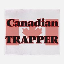 Canadian Trapper Throw Blanket