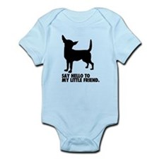 Funny Say hello Infant Bodysuit