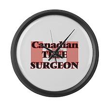 Canadian Tree Surgeon Large Wall Clock