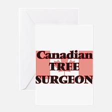 Canadian Tree Surgeon Greeting Cards