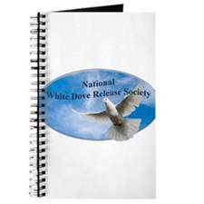 Unique White dove Journal