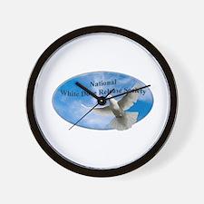 Cute White dove Wall Clock